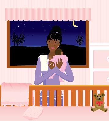 Baby Girl | Clipart