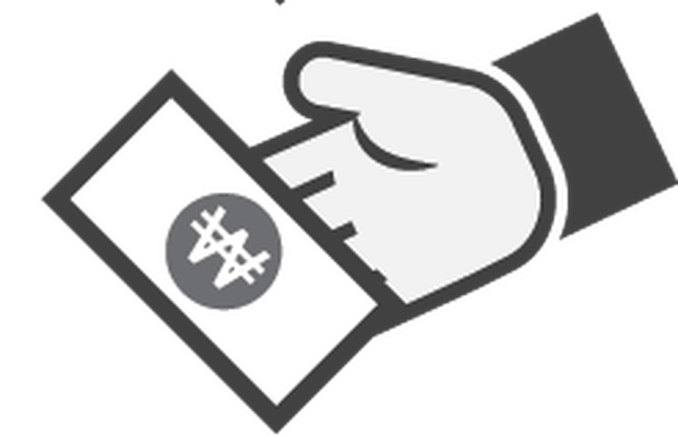 Hand with Money Icon - 6 | Clipart