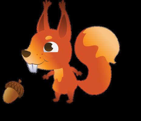 Set of Cartoon Forest Animals | Clipart