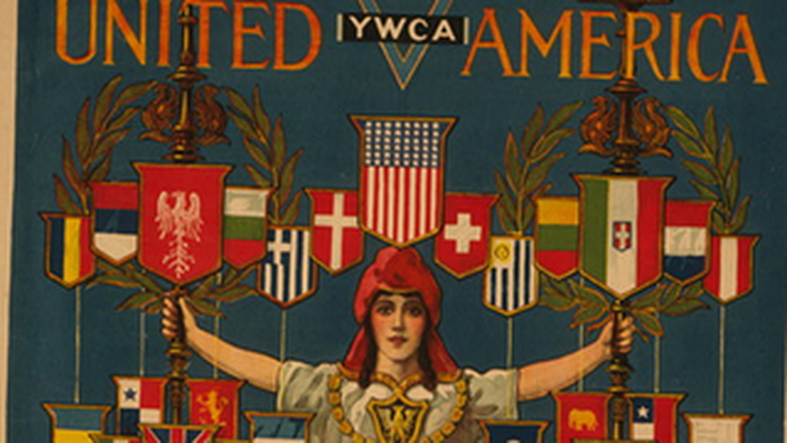 For United America YWCA Division for Foreign Born Women