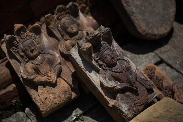 Stone Statues Set Aside To Be Inventoried | Global Oneness Project