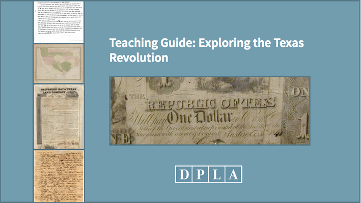 Teaching Guide: Exploring the Texas Revolution