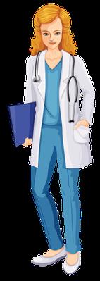 Doctors and Nurses | Clipart