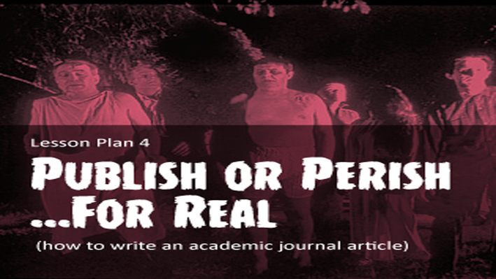 The Zombie Autopsies | Publish or Perish ...for Real