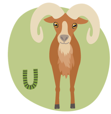 Animal Alphabet S-V | Clipart