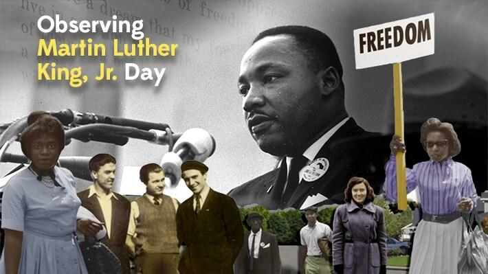 Observing Martin Luther King, Jr. Day | Classroom ...