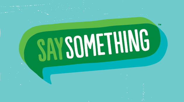 Say Something: An Educator Guide