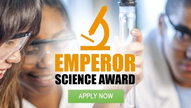 Emperor Science Award: Enter Now