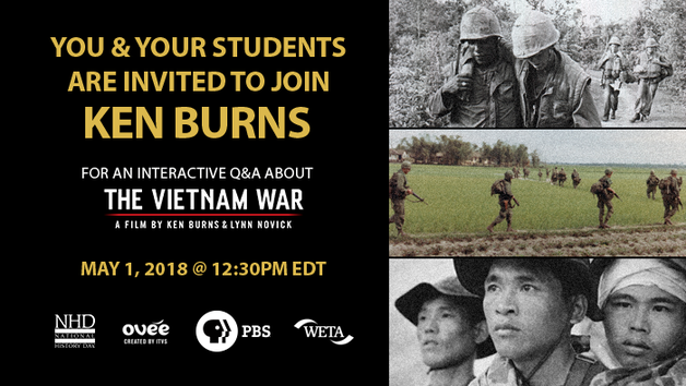The Vietnam War: Live Q&A with Ken Burns
