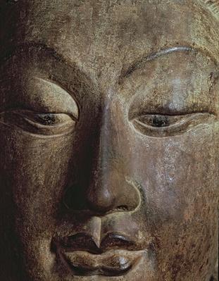 Head of a Bodhisattva (stone)