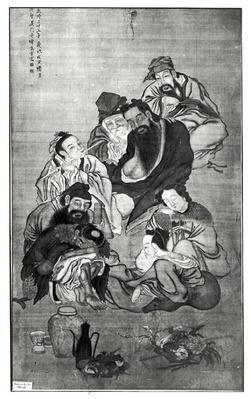 Pa Hsien, the Eight Immortals