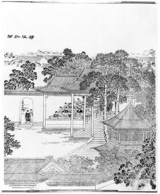 Life of a Mandarin (engraving)