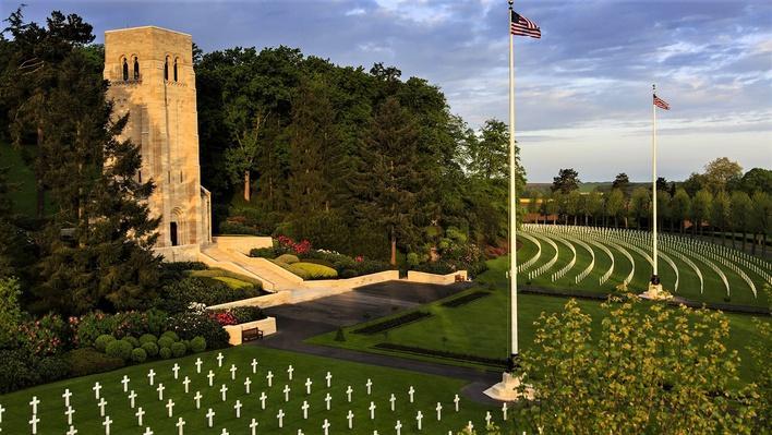 World War I Memorial at Aisne Marne