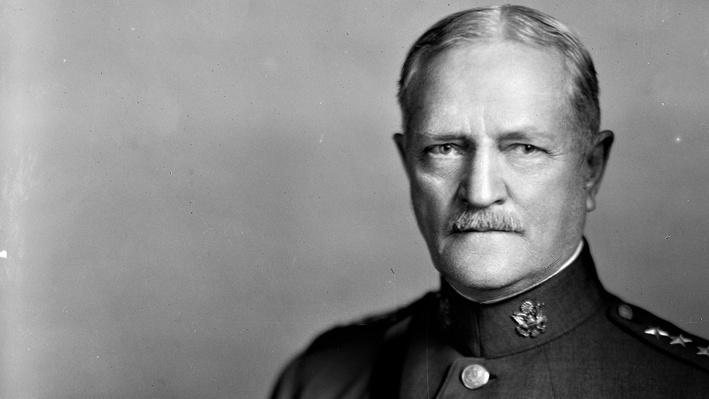 Post War Portrait of General John J. Pershing