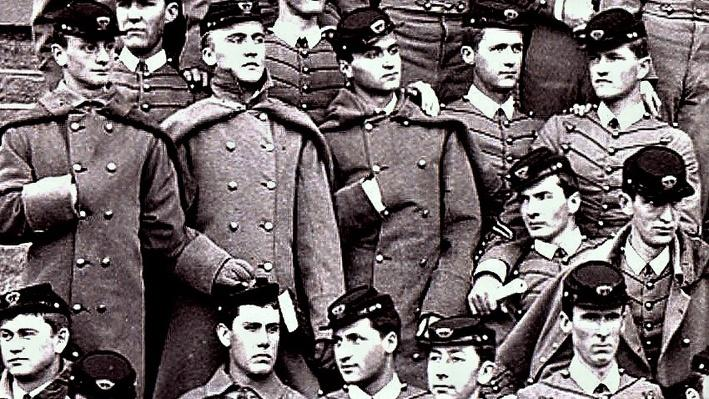 Pershing at West Point Military Academy 1886