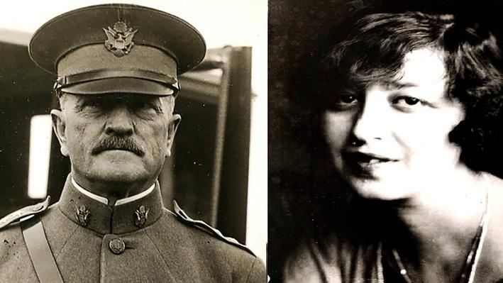 Pershing's Love Affair with Micheline Resco | Black Jack Pershing: Love and War