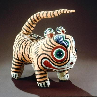 Tiger (painted cloth)