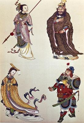 Heroes and Heroines of Chinese History, including Empress Wu