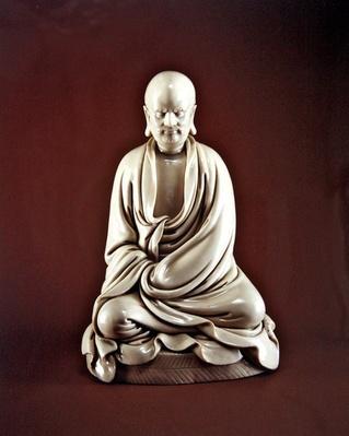 Bodhidharma (Damo), Ming dynasty (1368-1644) (porcelain)
