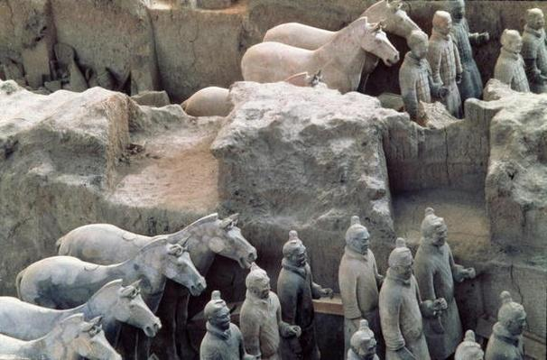 Terracotta Army, Qin Dynasty, 210 BC 2