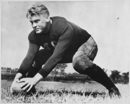 Ford on the football field