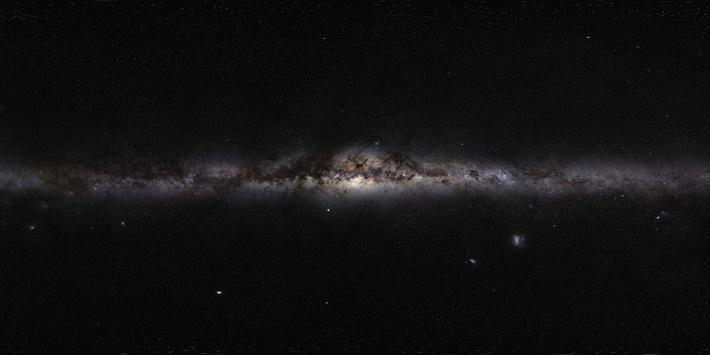Milky Way: All-Sky Panorama