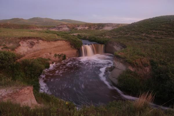 photo of the North Loup river in the Sandhills