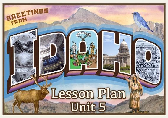 Idaho | Activity 5.4: America in the Mid 1800s – Who Controlled Idaho?