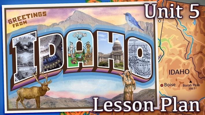 Idaho   Activity 5.5: Moving Westward – Manifest Destiny
