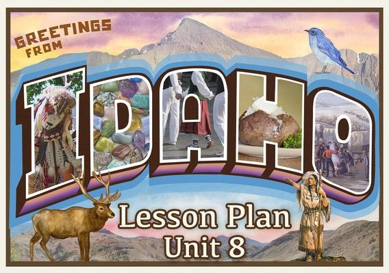 Idaho | Activity 8.3: From the Mountain Bluebird to the Cutthroat Trout - What are Idaho's State Symbols?