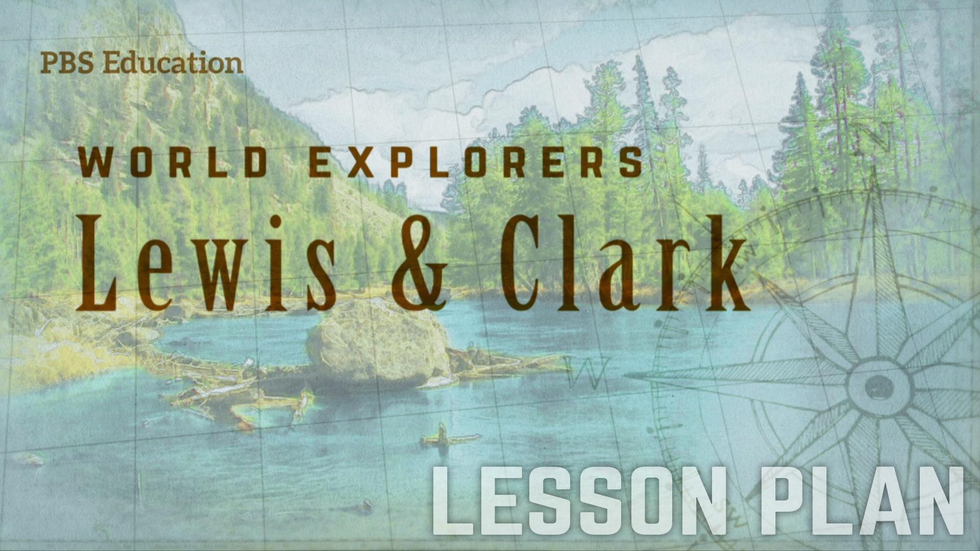 photograph about Lewis Clark Printable Activities titled Meriwether Lewis and William Clark Explorers and Troopers