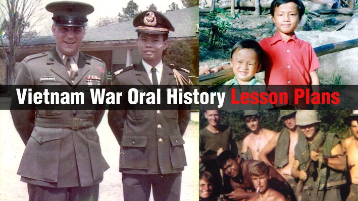 The Soldier's Experience in Vietnam: Using Oral Histories to Draft an Historical Narrative | Lesson Plan
