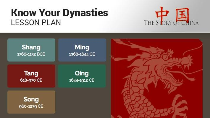 Know Your Dynasties: Lesson Plan | The Story of China