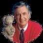 Mister Rogers' Neighborhood logo.