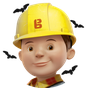 Bob the Builder logo.