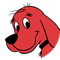 Clifford the Big Red Dog logo.