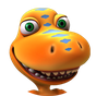 Dinosaur Train logo.