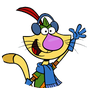 Nature Cat logo.