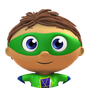 SUPER WHY! logo.