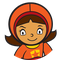 WordGirl logo.