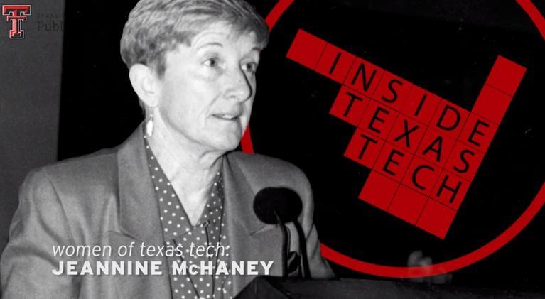 Inside Texas Tech: Women of Texas Tech: Jeannine McHaney