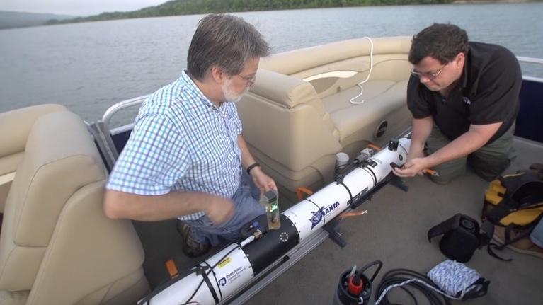 SciTech Now - WPSU Penn State: MANTA - Autonomous Underwater System