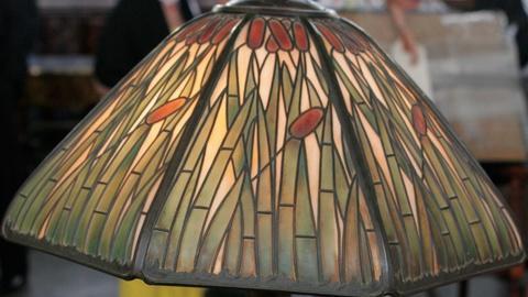 S24 E21: Appraisal: Handel Cattail Lamp, ca. 1915