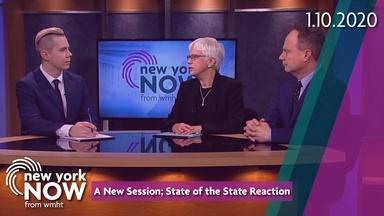 A New Session; State of the State Reaction