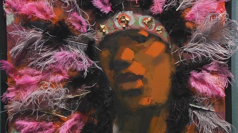 "Open Studio with Jared Bowen: Artist Robert Freeman & ""Fall"" at Huntington Theatre Company"