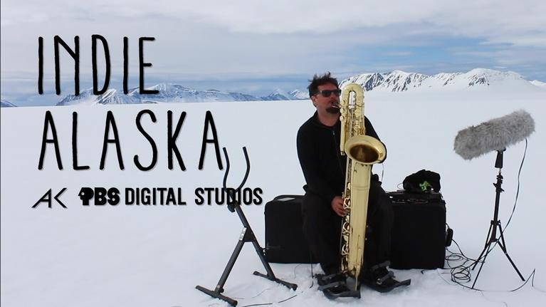 Indie Alaska: Making Music with Glaciers and Snow