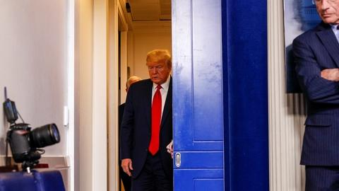 Trump briefing focuses on national security and data models