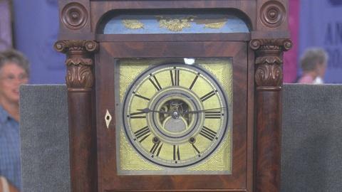 Antiques Roadshow -- S21 Ep20: Appraisal: C. & N. Jerome Shelf Clock, ca. 1835