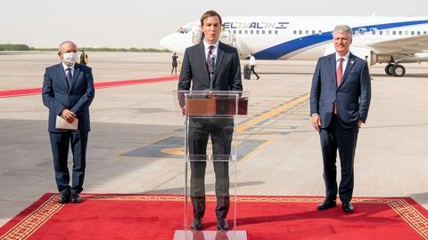 Kushner on 'historic' Middle East deal, pandemic response