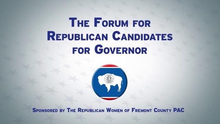 Wyoming News and Public Affairs: Fremont County Rep. Gubernatorial Candidate Forum
